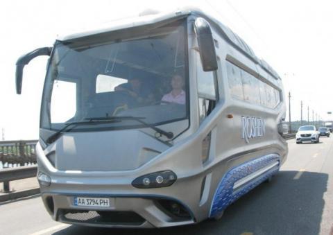 Українське підприємство створило перший унікальний автобус (ФОТО)