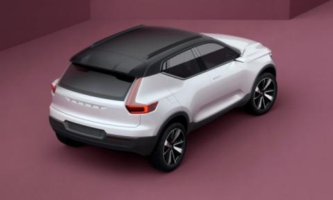 Volvo анонсував новий компактний кросовер XC40 (ВІДЕО)