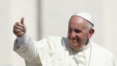 Папа Римський дасть гроші на відбудову Донбасу