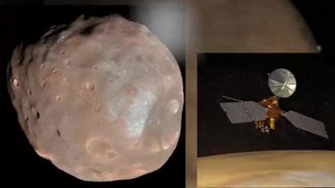 NASA опублікувало відео прольоту Фобоса навколо Марса (ВІДЕО)