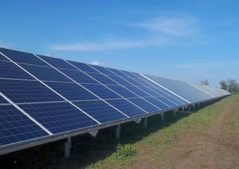 В Україні знаходиться унікальна для Європи сонячна електростанція (ВІДЕО)