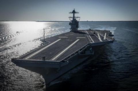 Американський флот отримав авіаносець нового класу вартістю $13 млрд