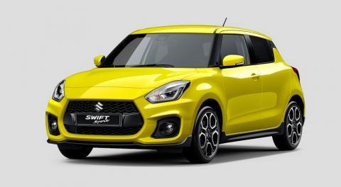 Suzuki розсекретила новий хетч Swift Sport
