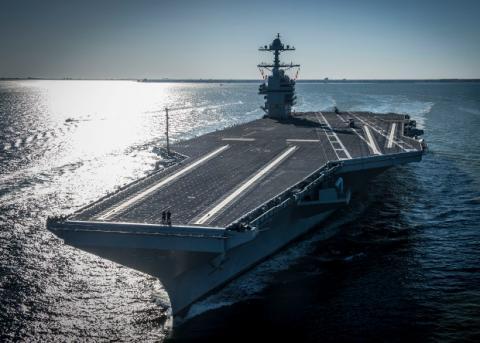Американський флот отримав новий авіаносець
