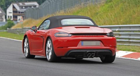 Porsche випробував новий Boxster GTS (ФОТО)