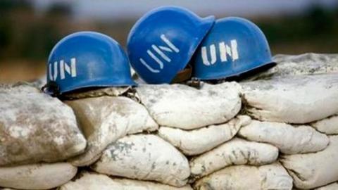 Порошенко виступив з вимогою введення на Донбас миротворців ООН