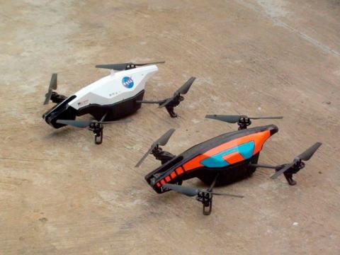 NASA створило незвичне програмне забезпечення для дронів