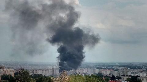 У Львові загорівся завод (ФОТО)