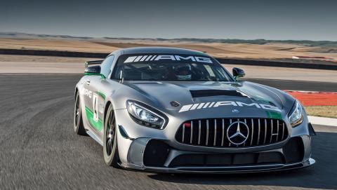 Mercedes розсекретив потужну модель AMG GT4  (ФОТО)
