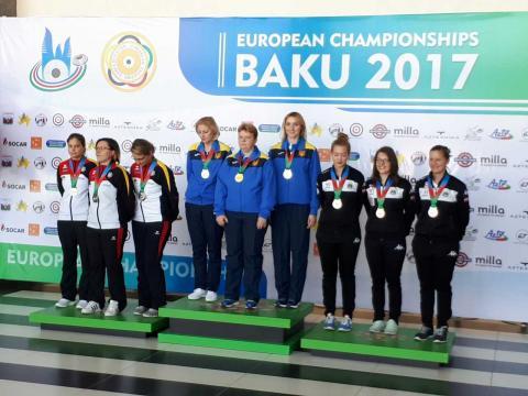 Українськи стрілки виграли три медалі чемпіонату Європи в Баку