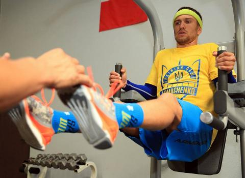 Ломаченко провів відкрите тренування перед майбутнім боєм (ФОТО)