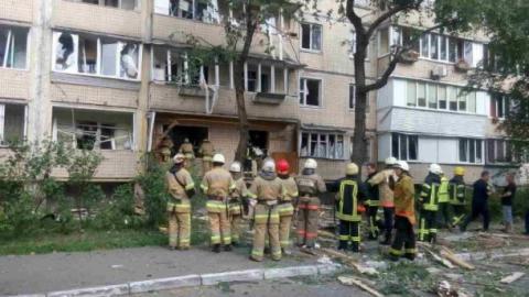 Стало відомо про жертв внаслідок вибуху у Києві
