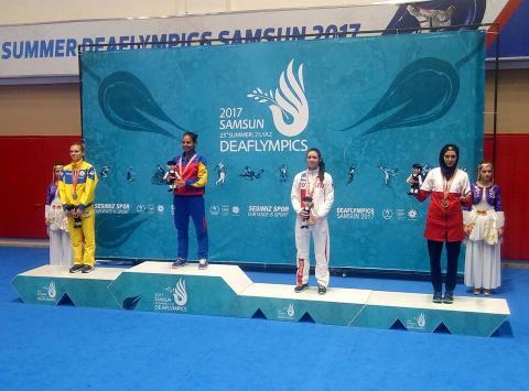 Українські каратисти виграли 4 медалі на Дефлімпійських іграх-2017