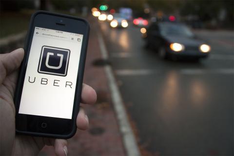Таксі Uber з