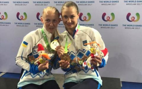 Українки сенсаційно перемогли в стрибках на батуті на Всесвітніх іграх