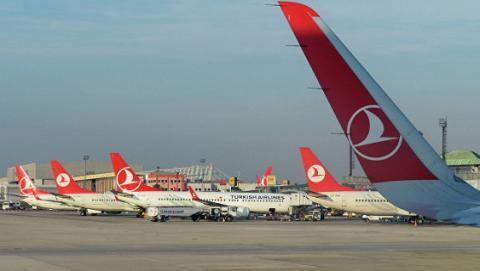 В турецькому аеропорту зіткнулись два літаки