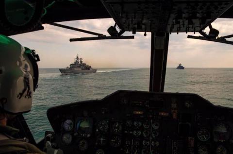 Опубліковано фото міжнародних військових навчань у Чорному морі за участю України (ФОТО)