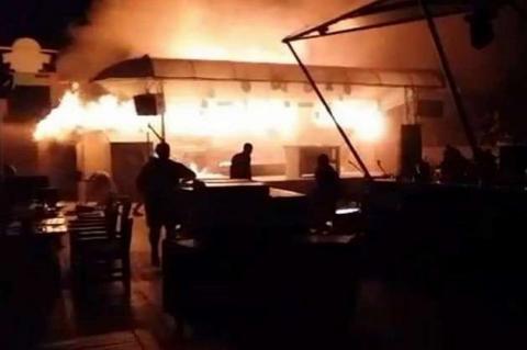 В Одесі сталася велика пожежа в нічному клубі (ФОТО)