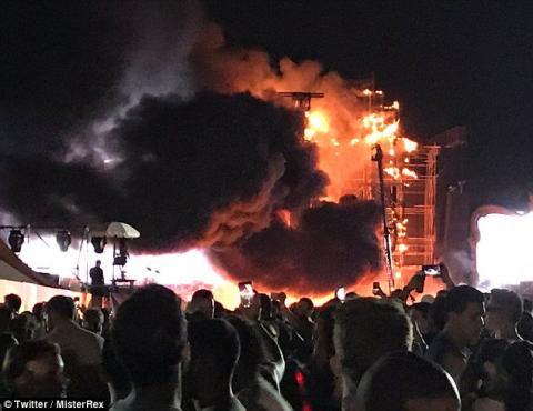Тисячі людей було евакуйовано з музичного фестивалю в Барселоні (ФОТО)