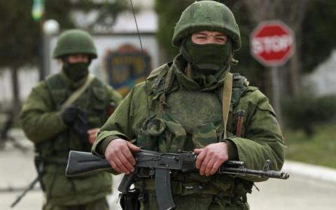 День ВМС у Криму: окупанти агітують дітей служити (ФОТО)