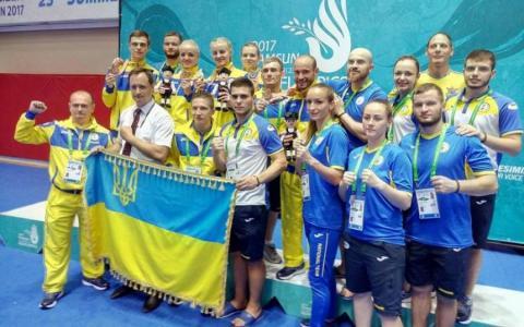 Україна завоювала на Дефлімпіаді-2017 майже сотню медалей