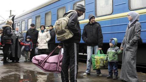 В країні побільшало переселенців з Криму і Донбасу