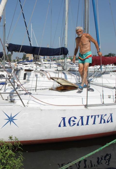 Мандрівник навколо світу – аристократ моря з берегів Дніпра (ФОТО)