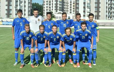 Збірна України U-17 з футболу обіграла Болгарію у першій грі кваліфікації Євро-2018