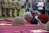 На Житомирщині перепоховали рештки 65 воїнів часів Другої світової війни