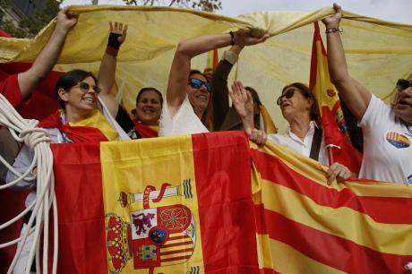 У Барселоні на марш з нагоди Національного дня Іспанії вийшли 65 тис. осіб