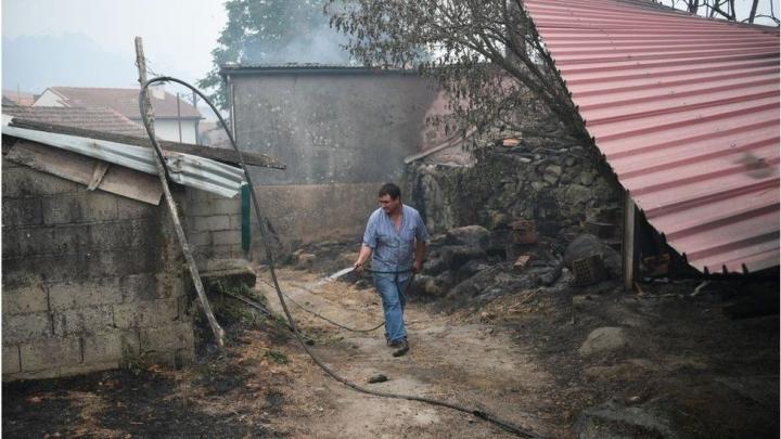 Пожежі вПортугалії та Іспанії забрали 30 життів