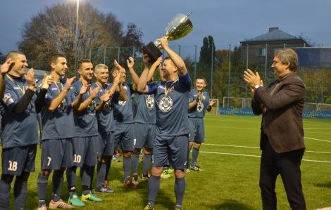 Команда Повітряних сил ЗСУ здобула Кубок Захисника України-2017 з футболу