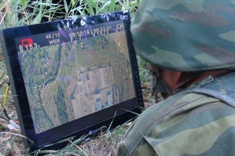 Бойовики розвідують позиції ЗСУ за допомогою заборонених домовленостями безпілотників
