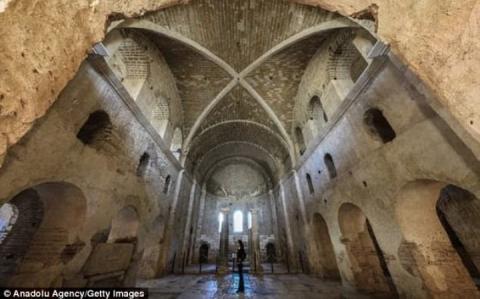 Мощі св. Миколая досі можуть перебувати в Туреччині