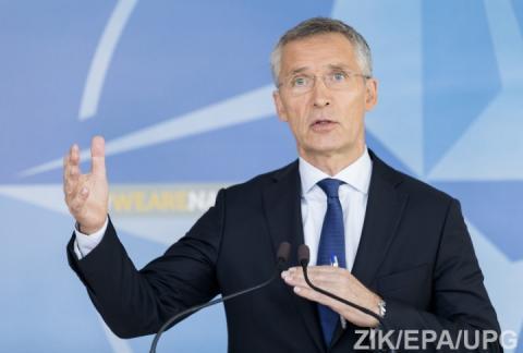 НАТО підтримує миротворчу місію ООН на сході України, – Столтенберг