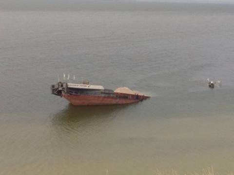 На акваторії Каховського водосховища стався розлив нафтопродуктів