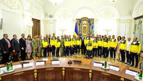 Петро Порошенко вручив нагороди переможцям і призерам «Ігор Нескорених-2017»
