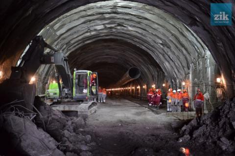 У Карпатах закінчили будівництво Бескидського тунелю