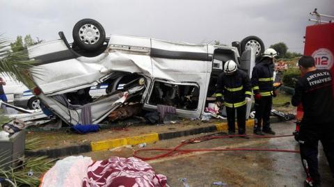 У Туреччині перекинувся автобус із туристами: є загиблі і поранені
