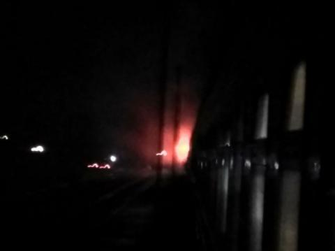 Поїзд Миколаїв-Київ загорівся на ходу невдовзі після виїзду