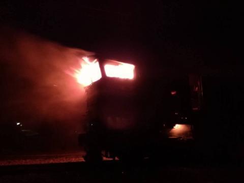 В «Укрзалізниці» повідомили про загоряння потягу Миколаїв-Київ