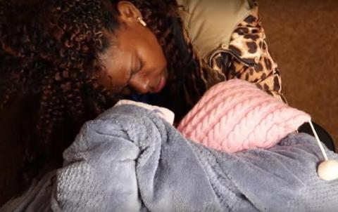 На українсько-польському кордоні затримали африканку з немовлям
