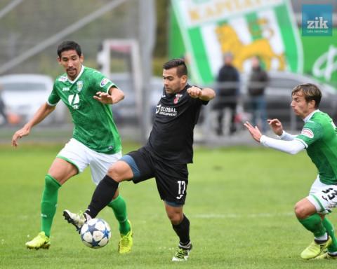 «Карпати» у товариському матчі поступилися «Вересу»
