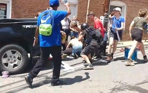 """У Шарлотсвіллі відбувся новий мітинг """"білих націоналістів"""""""