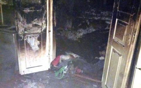 У Житомирській області на пожежі в приватному будинку загинув чоловік