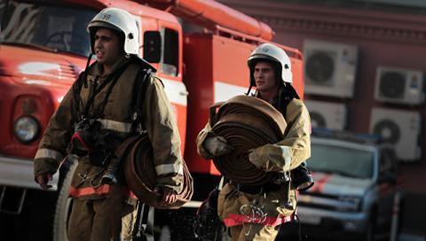 Слідом за торговим центром під Москвою загорівся ринок у Ростові-на-Дону
