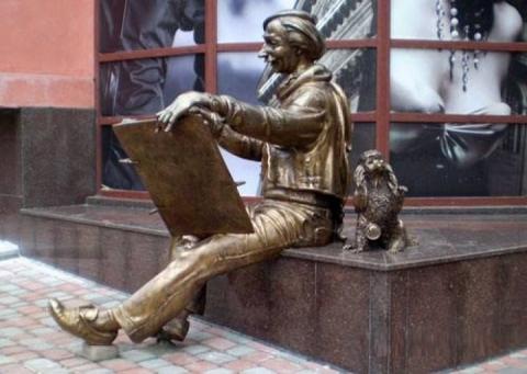 Найцікавіші пам'ятники, присвячені художникам