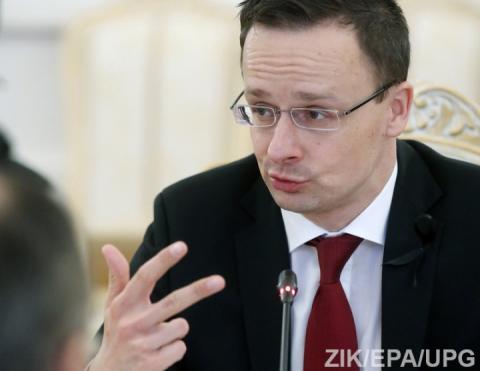 Голова МЗС Угорщини в Ужгороді: Закликаємо до перегляду Угоди про асоціацію України з ЄС