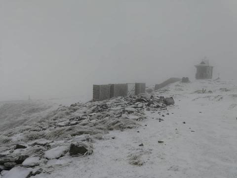 Високо в Карпатах випав сніг, – рятувальники