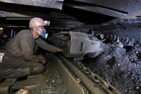 Цього року видобуток вугілля в Україні скоротився майже на 12%
